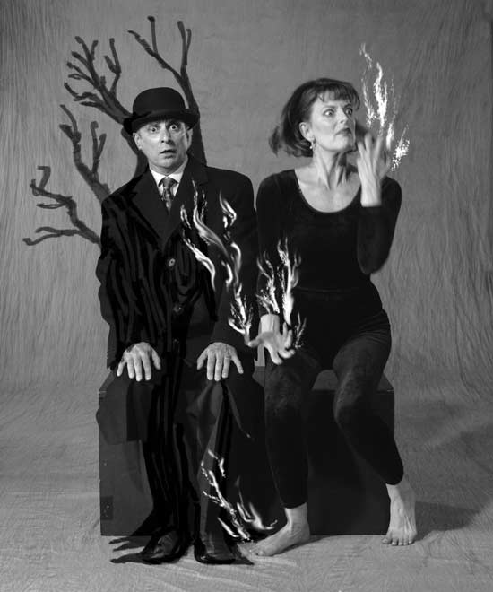 Actors as fire and tree