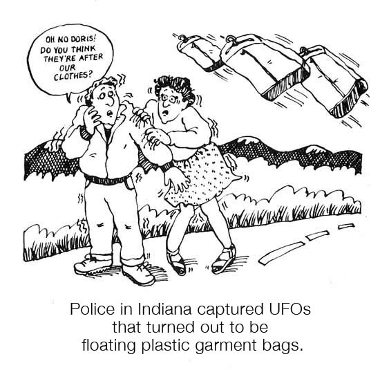 """Freaky Facts"" /  UFOs"