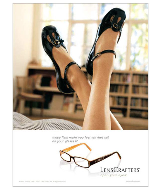 Lencrafters ad / flats